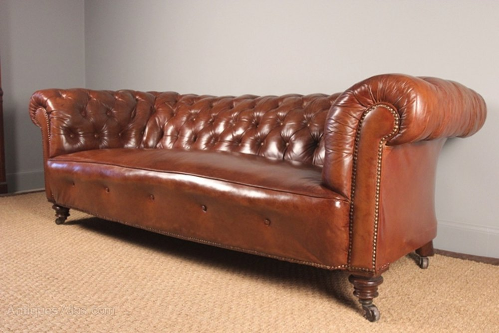 Superb Victorian Leather Chesterfield Antique Settees And Sofas Leather  Chesterfield Sofa Leather Sofa ...