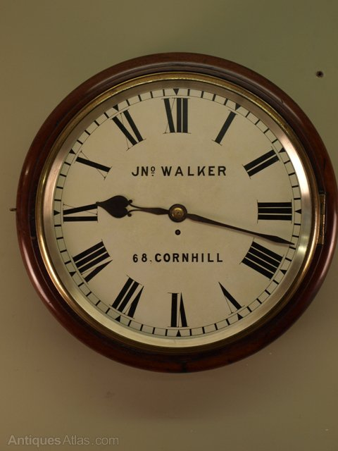 Antiques Atlas English Dial Clock By John Walker