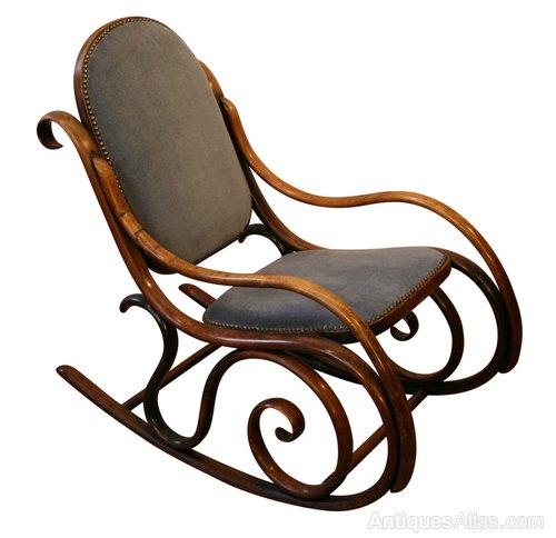 Admirable A Victorian Bentwood Rocking Chair Antiques Atlas Machost Co Dining Chair Design Ideas Machostcouk