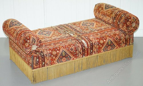 Pleasing C 1810 20 Regency Turkey Work Daybed Window Seat Ibusinesslaw Wood Chair Design Ideas Ibusinesslaworg