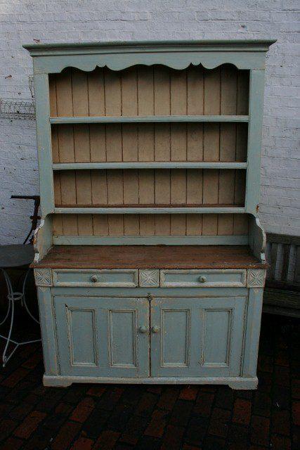 Antique Irish Painted Pine Dresser Antiques Atlas