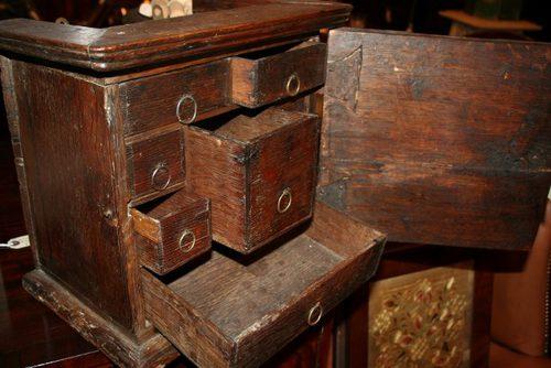 Antique Oak Spice Cabinet - Antique Oak Spice Cabinet - Antiques Atlas