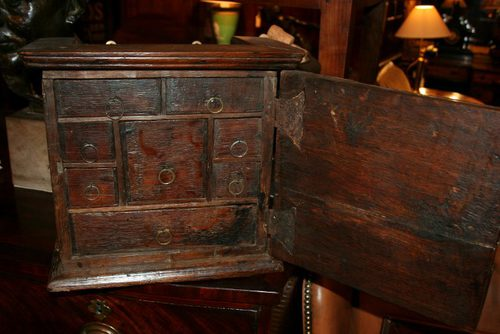 Antique Oak Spice Cabinet ... & Antique Oak Spice Cabinet - Antiques Atlas