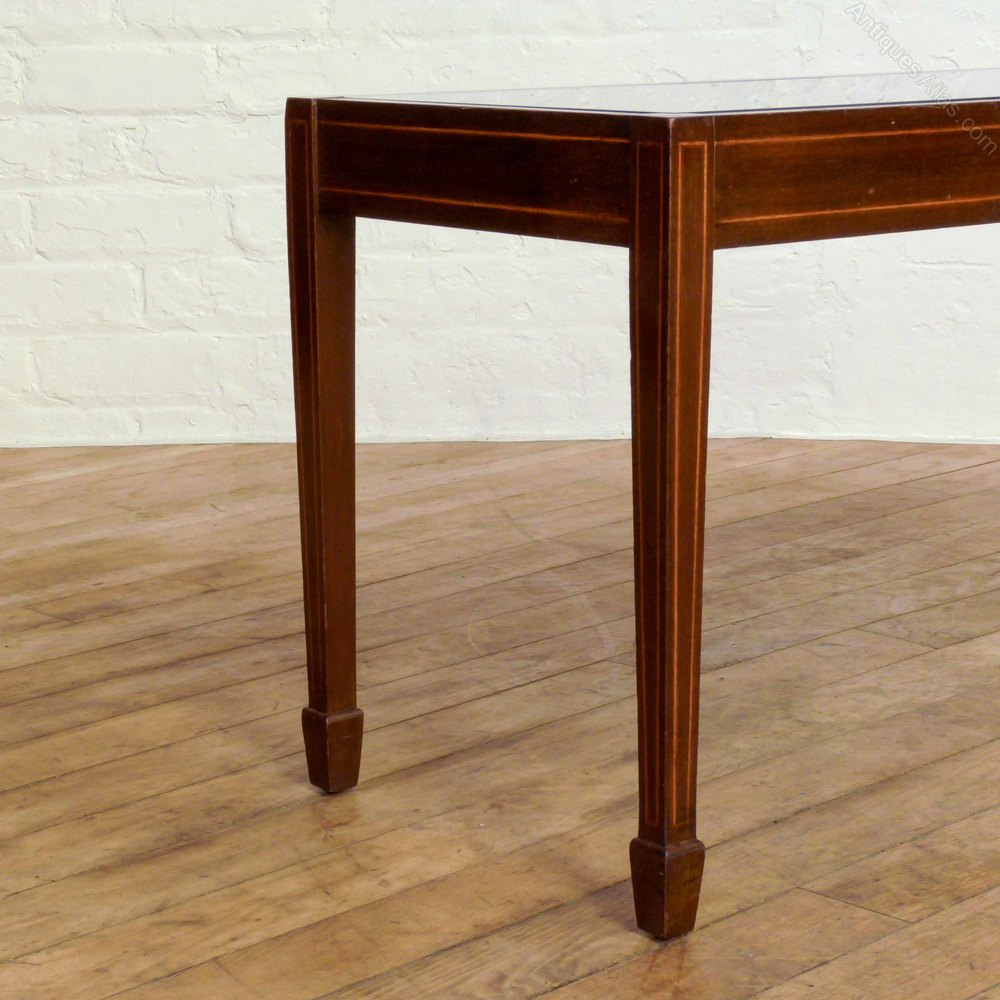 ... Antique Coffee Tables Edwardian Mahogany Coffee Table ...