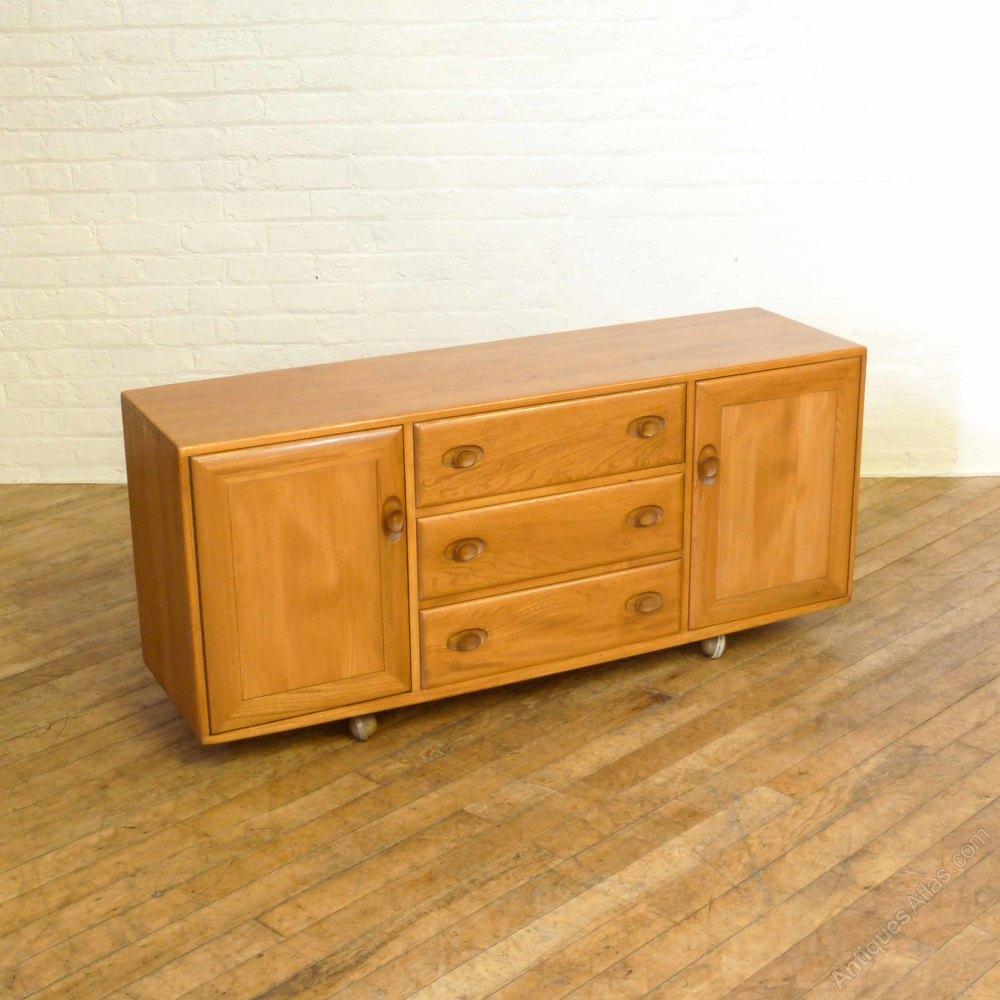 Table French Polisher 4U Ercol Elm Sideboard. Antiques Atlas   Furniture Manufacurer  Ercol Furniture