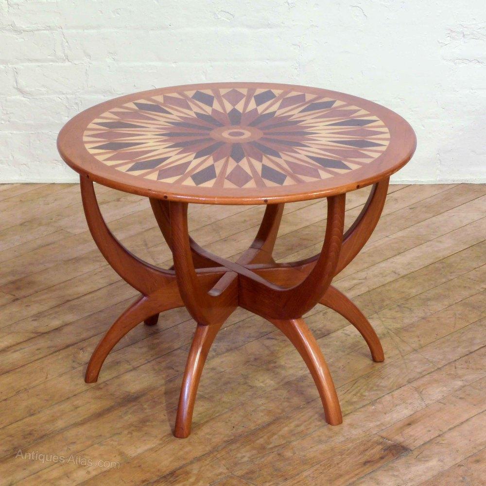 teak coffee table. Retro 1960s Teak Coffee Table