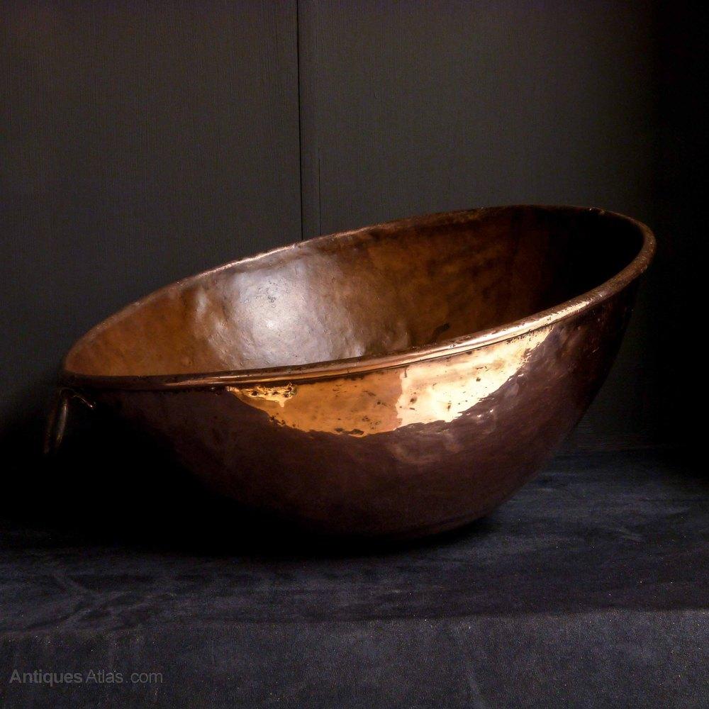 Vintage Kitchen Bowls: Set Of Three Cunard White Star Mixing Bowls
