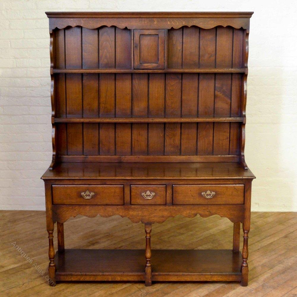 Titchmarsh Amp Goodwin Oak Welsh Dresser Antiques Atlas