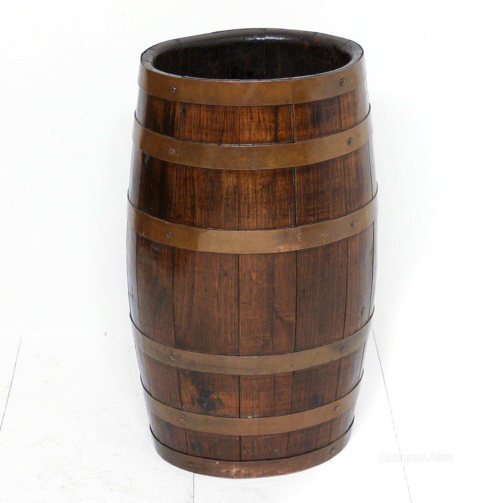 Victorian Oak Rum Barrel Antiques Atlas