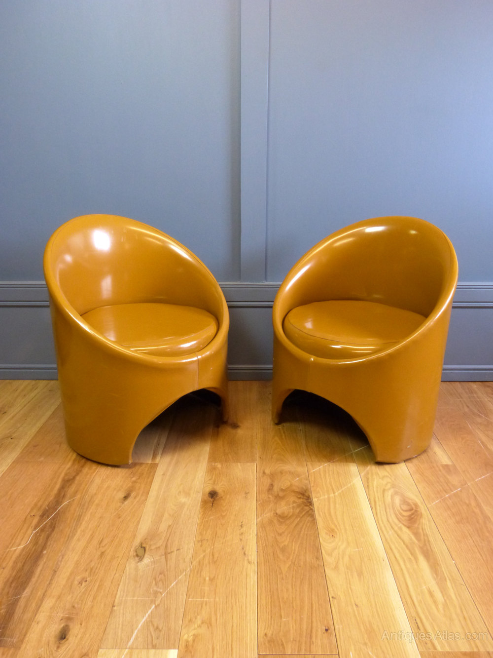 Antiques Atlas - 1960\'s Gogo Tub Chairs