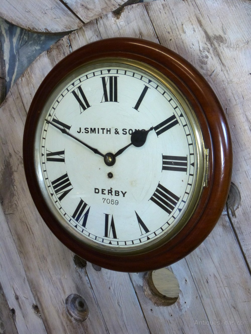 Antiques Atlas A Large 18 Quot Great Northern Railway Wall Clock