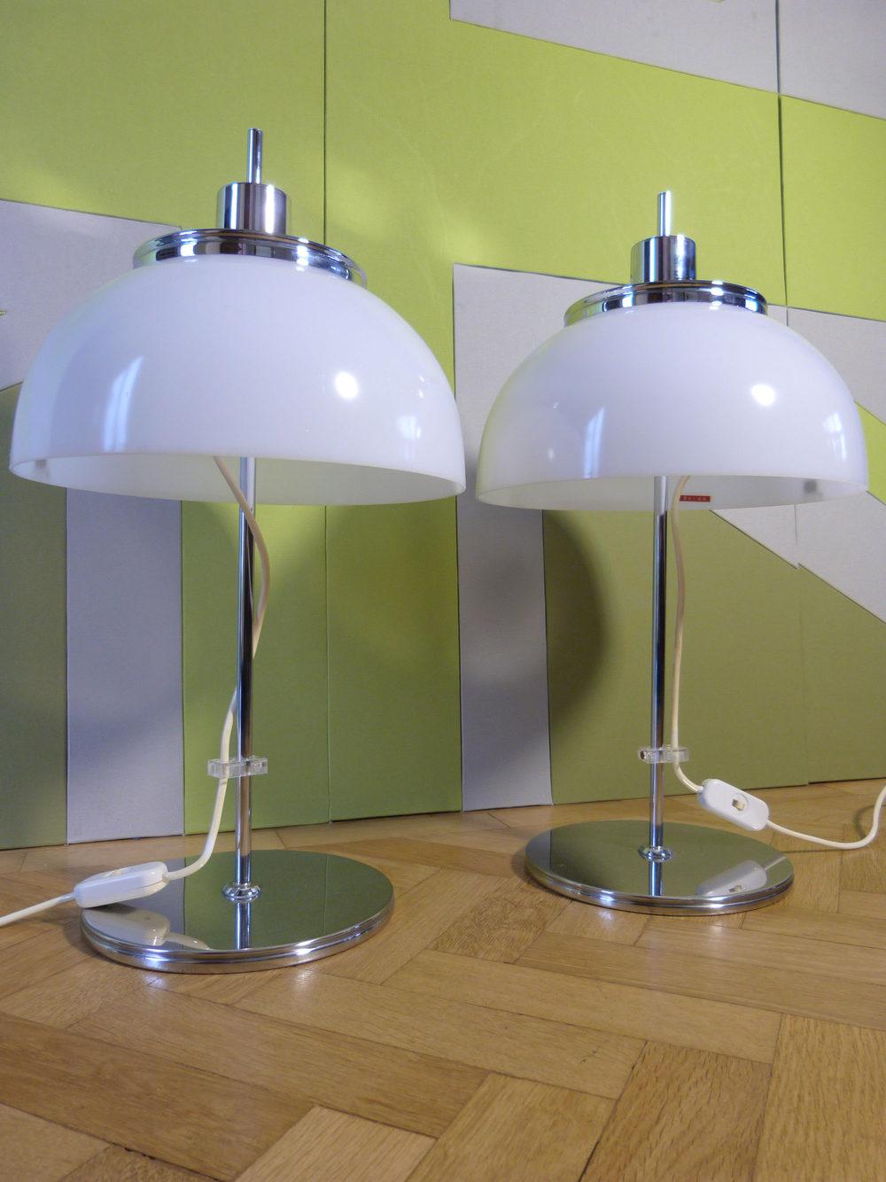 Antiques Atlas A Pair Of Harvey Guzzini Table Lamps