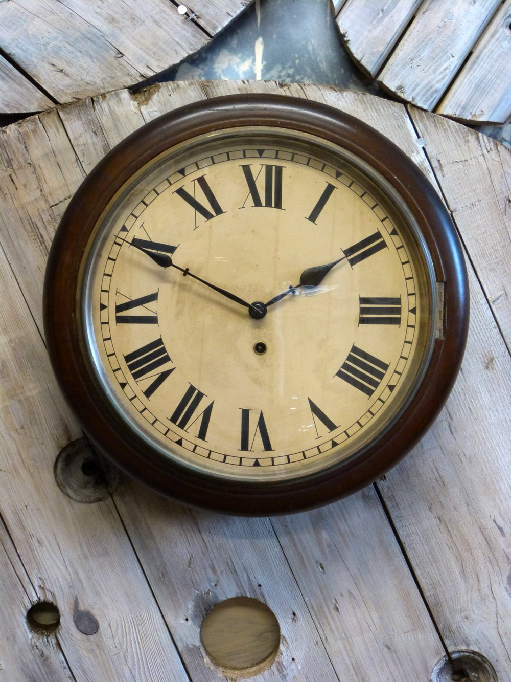 Antiques Atlas American School Wall Clock