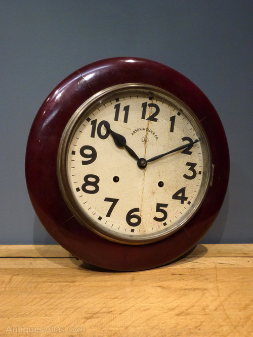 Antiques Atlas Ansonia Railway Clock