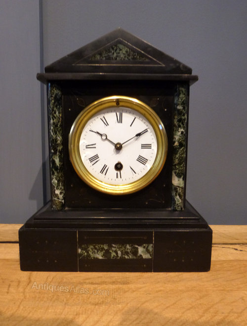 Antiques Atlas French Slate Mantel Clock