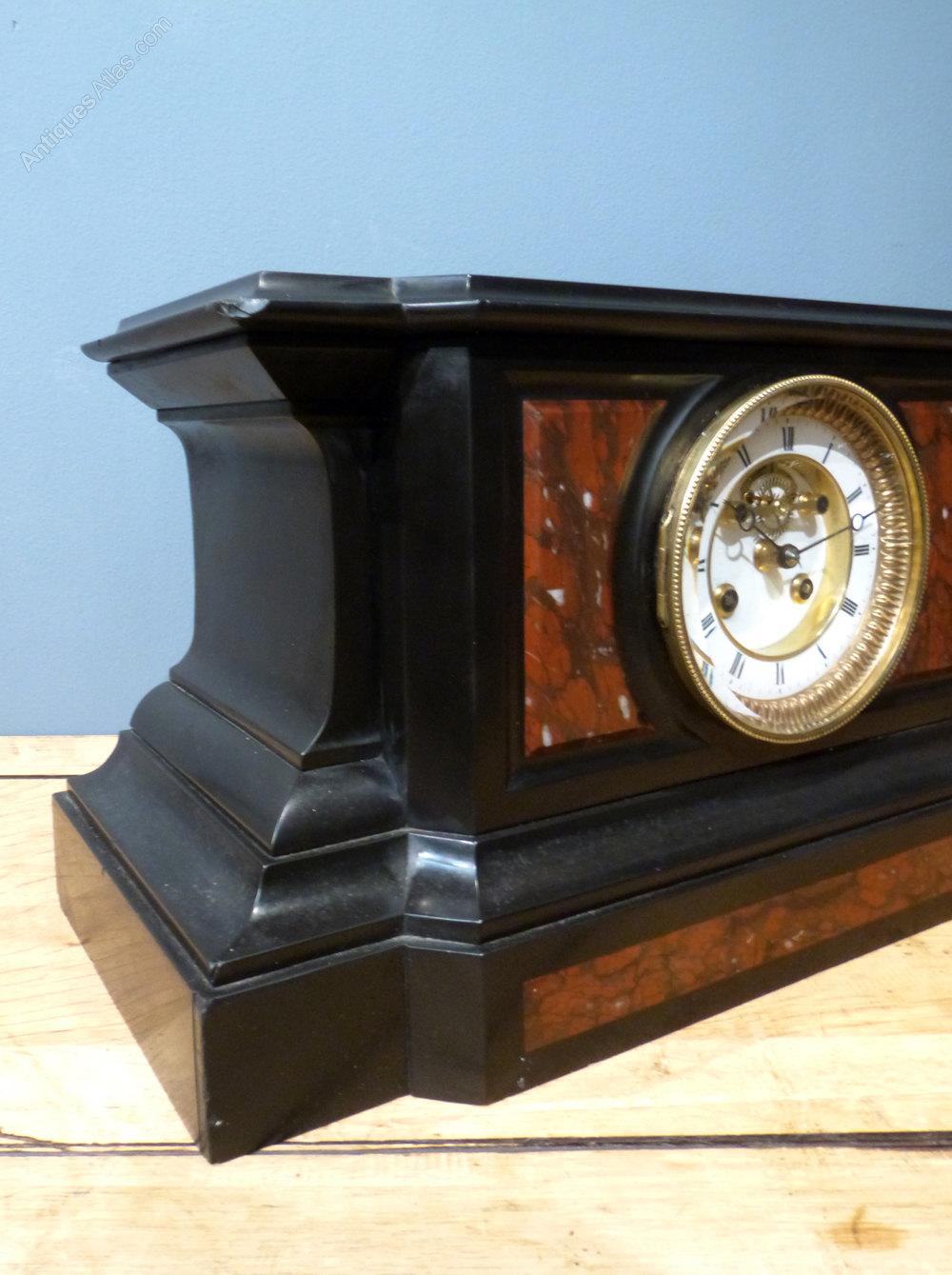 Antiques Atlas French Slate Mantel Clock