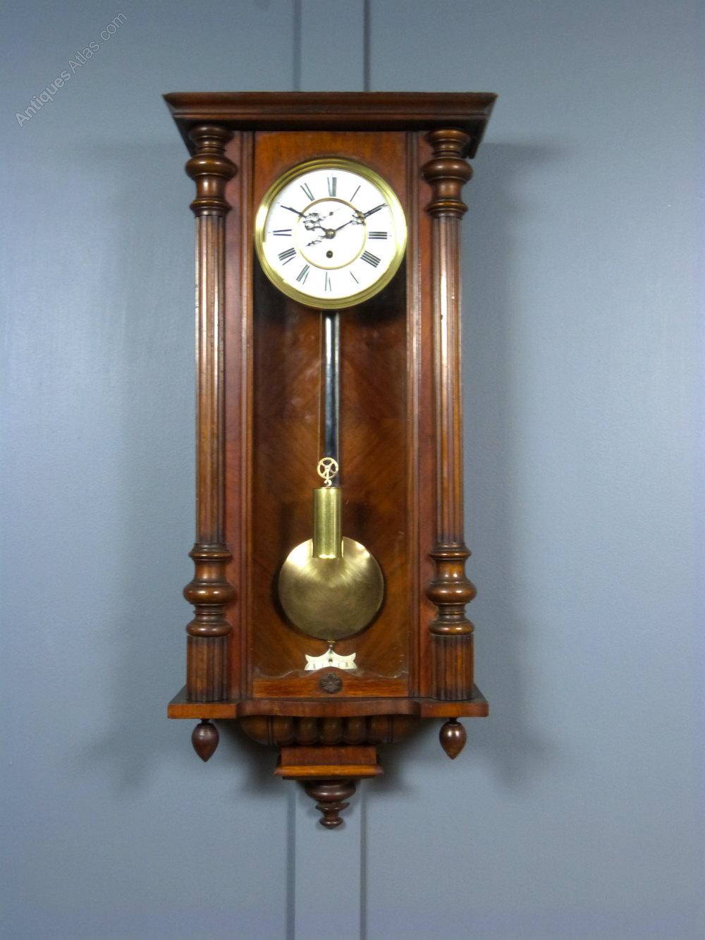 Antiques Atlas Gustav Becker Vienna Wall Clock
