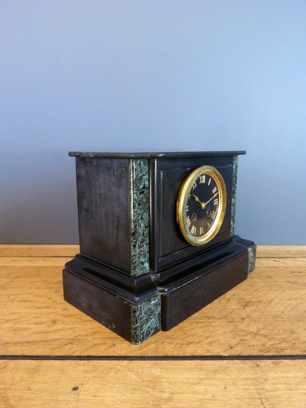 Antiques Atlas Japy Freres Slate Mantel Clock