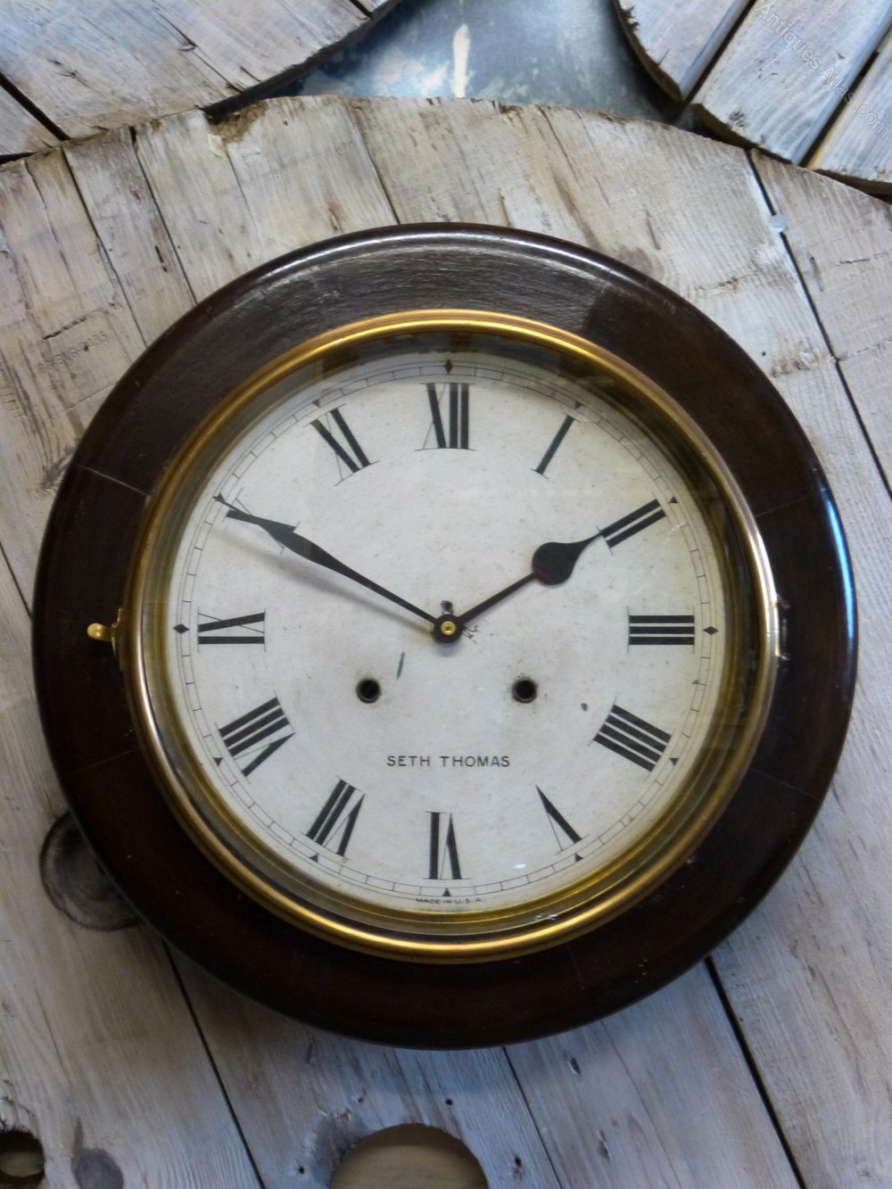 Antiques Atlas Seth Thomas Quartz Wall Clock