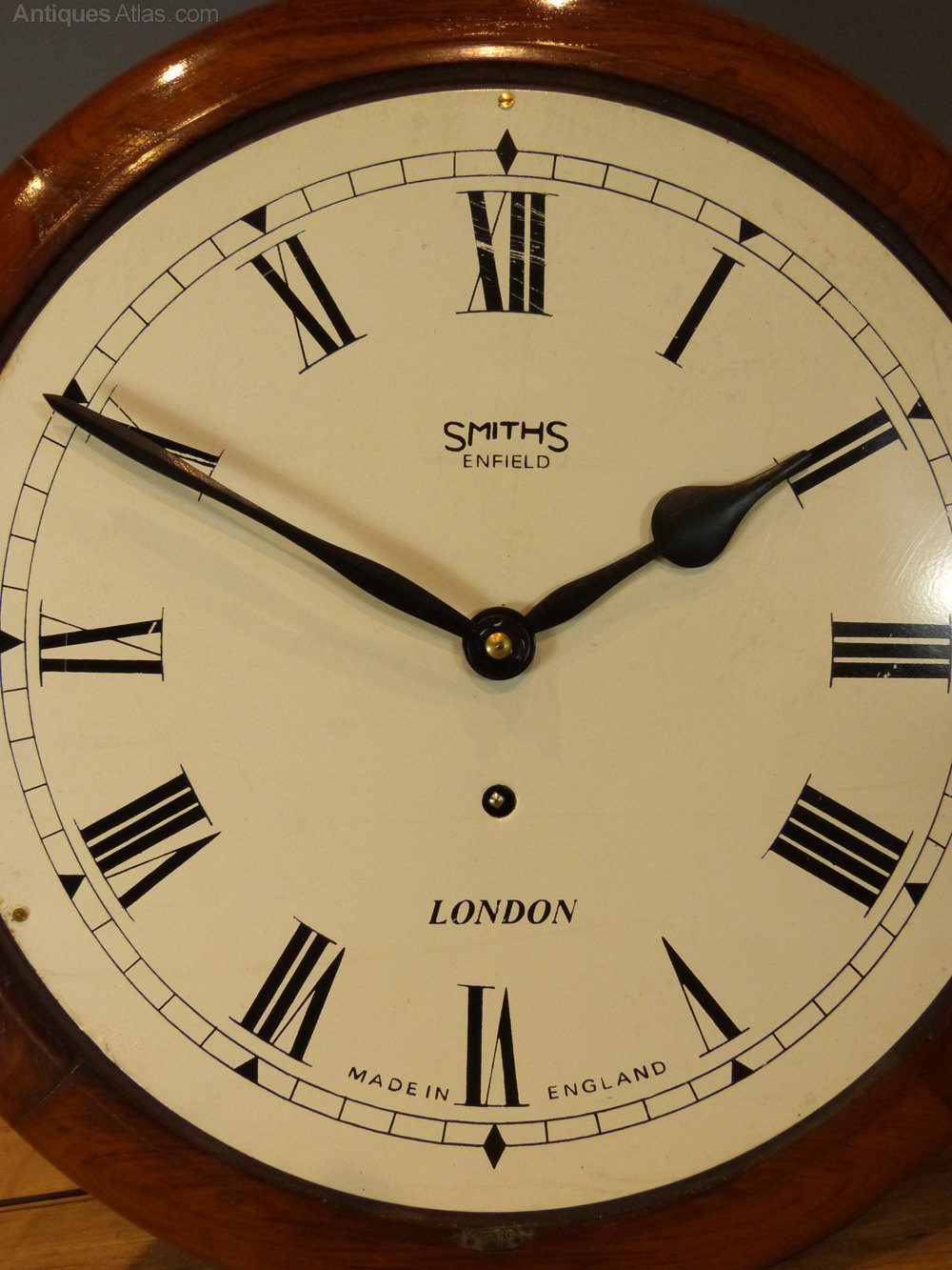 Quick guide to the date of a Smiths Clock