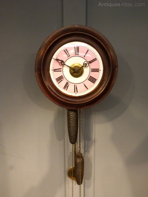 Antiques Atlas Victorian Postmans Alarm Clock