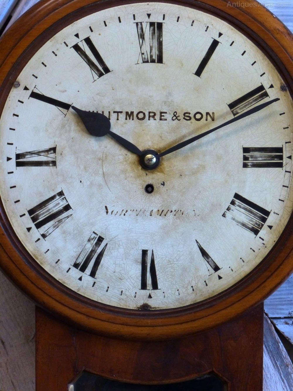 Antiques Atlas - Whitmore & Son Northampton Fusee Wall Clock