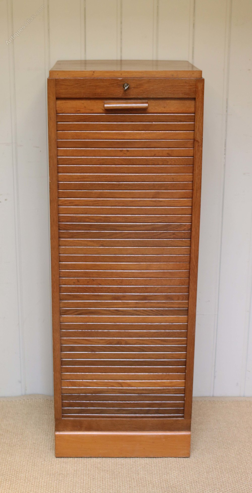 48s Single Tambour Front Filing Cabinet