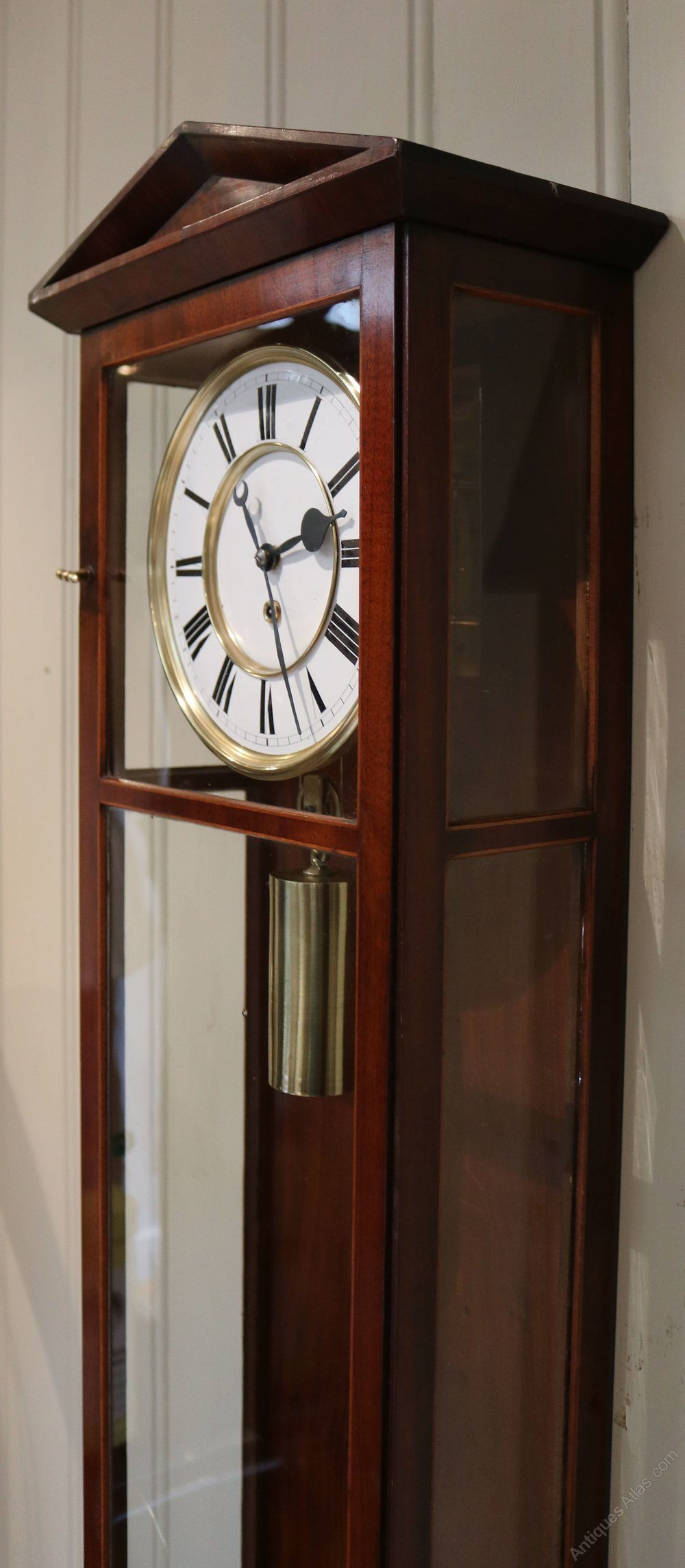 Antiques Atlas - Biedermeier Vienna Regulator Clock