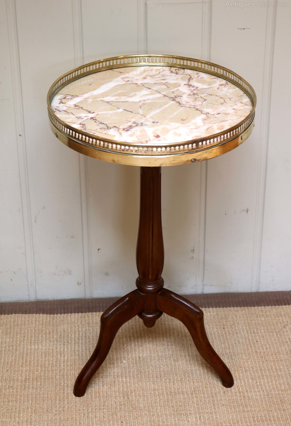 attractive French Marble Top Table Part - 15: French Marble Top Wine Table ...