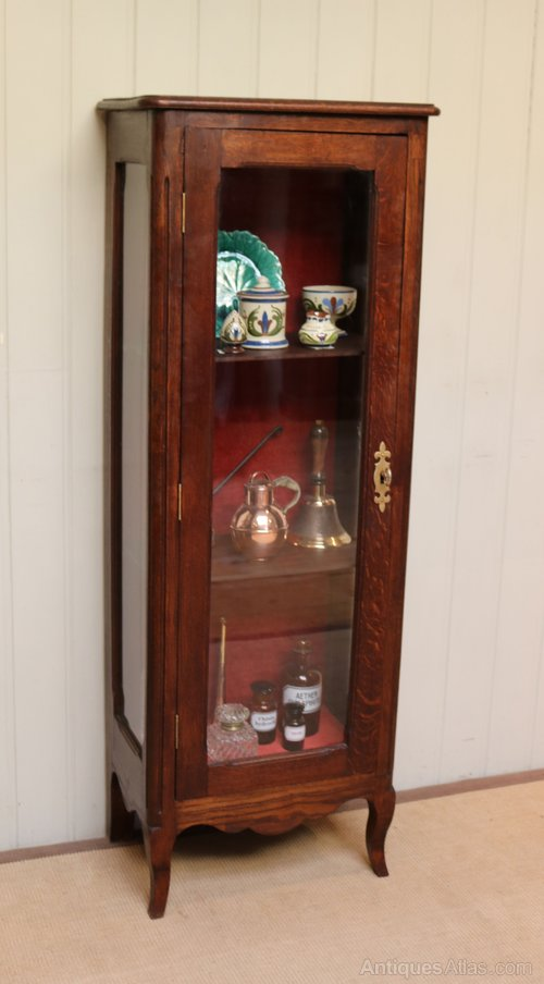 French Oak Display Cabinet Antiques Atlas, Short China Cabinet