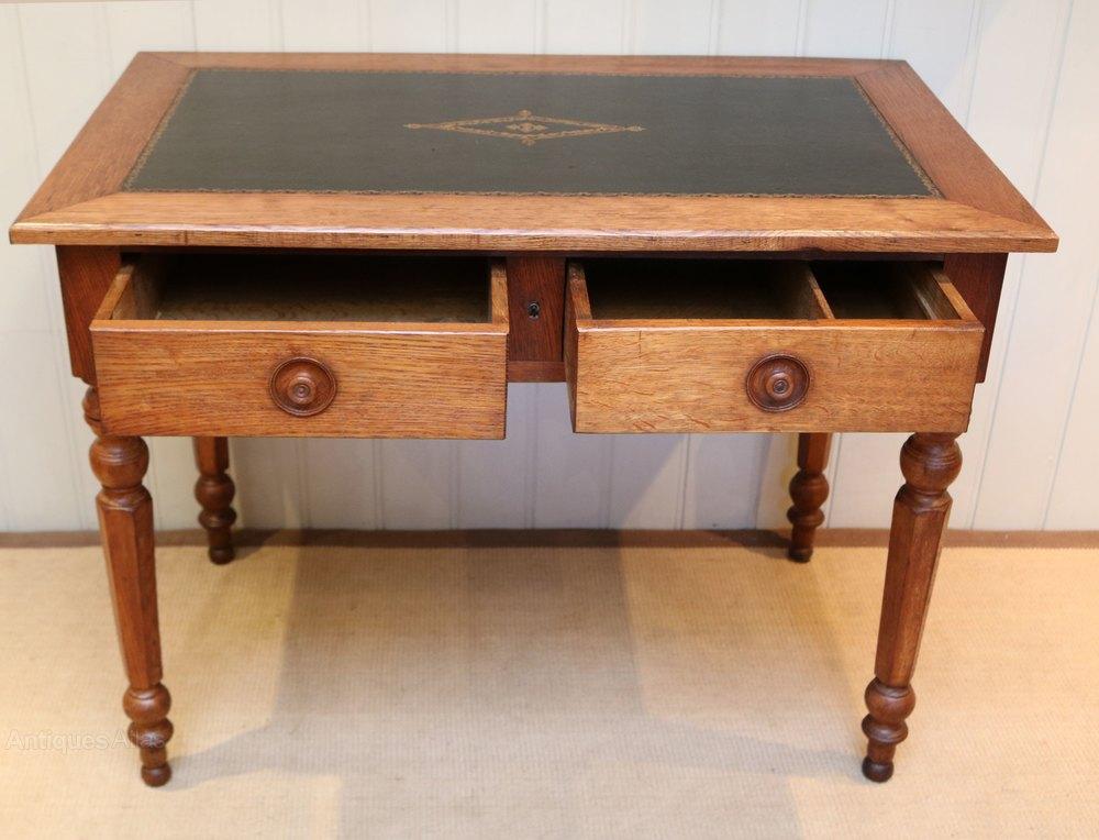French Oak Writing Desk Antiques Atlas