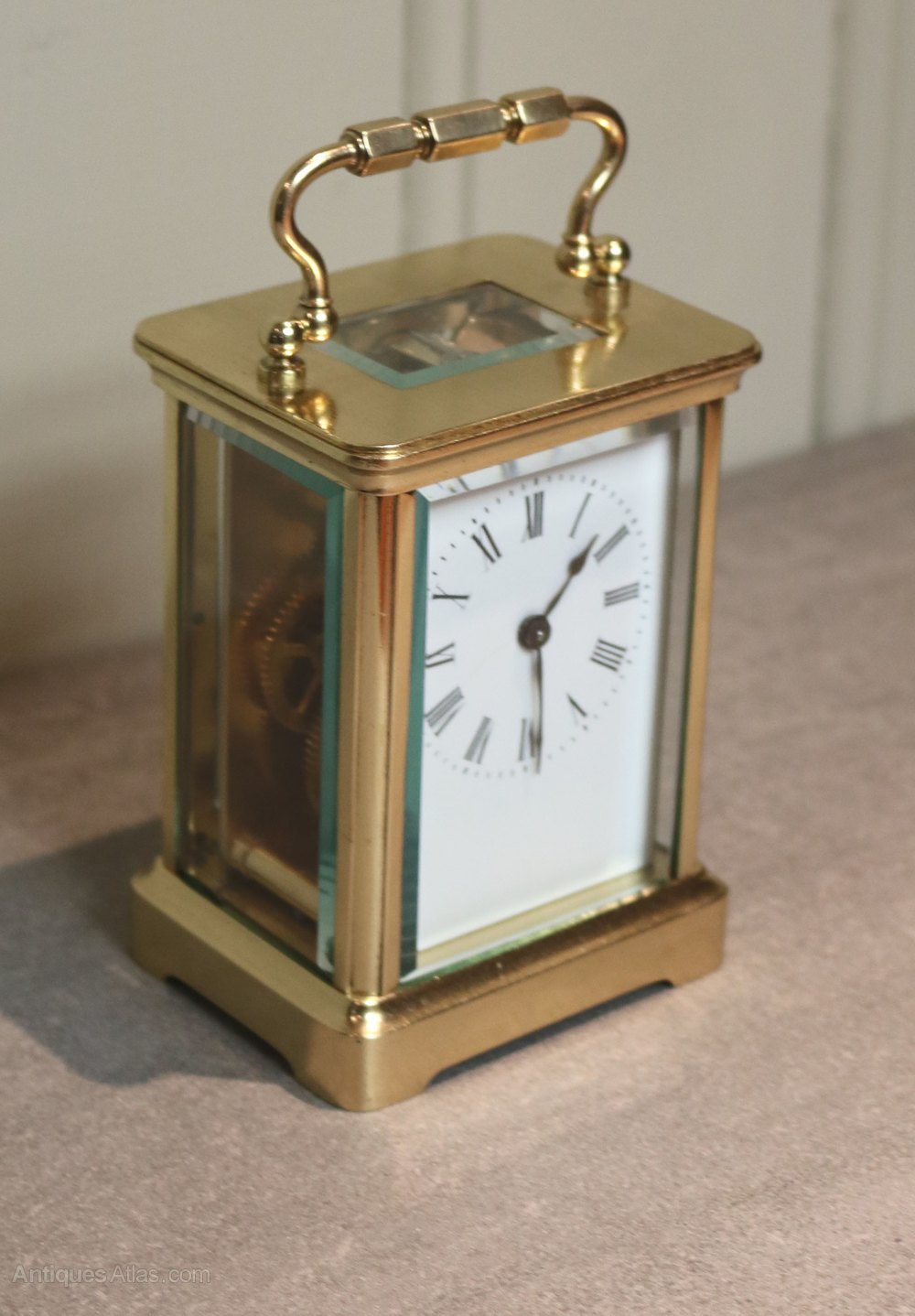 Antiques Atlas French Timepiece Carriage Clock With Case
