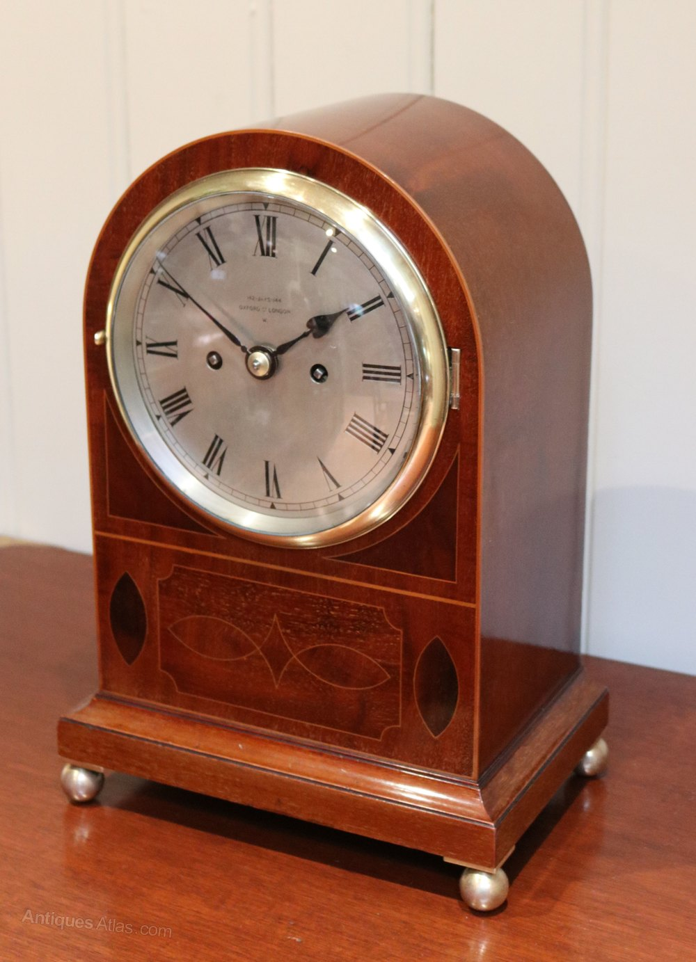 Antiques Atlas - Late 19th Century Twin Fusee Bracket Clock