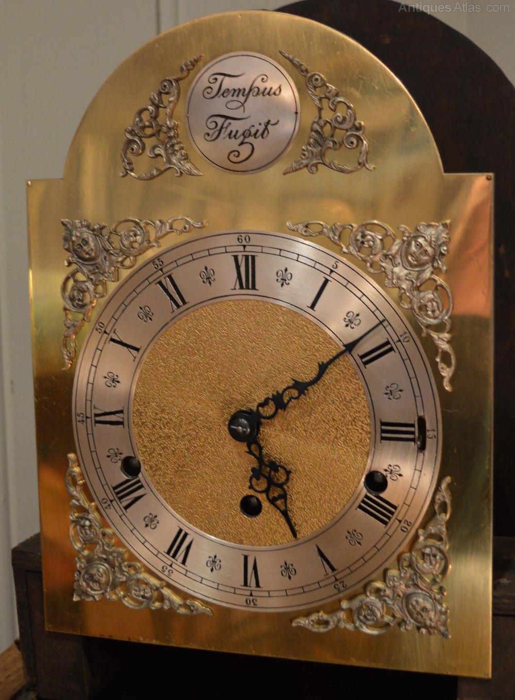 Antiques atlas light oak grandmother clock light oak grandmother clock antique clocks timepieces alt5 aloadofball Choice Image