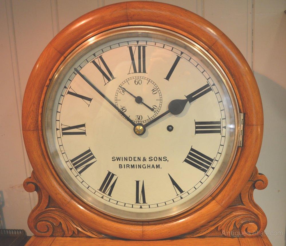 Antiques atlas light oak regulator wall clock light oak regulator wall clock antique wall clocks aloadofball Choice Image