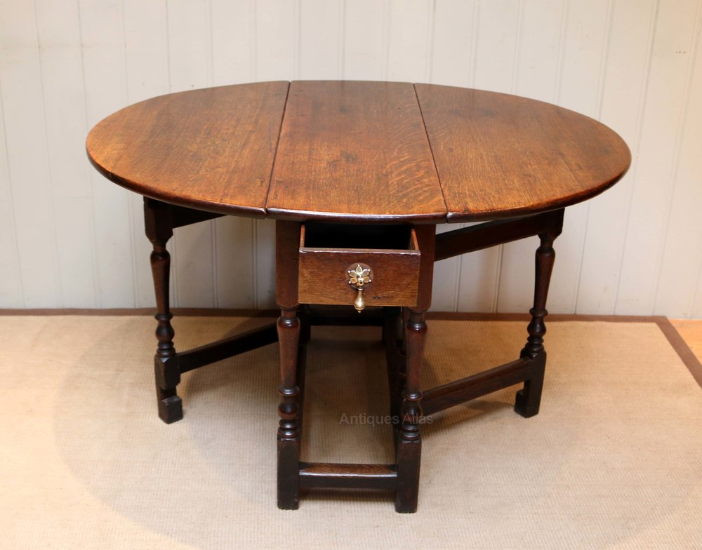 Drop Leaf Table Dining: Oak Drop Leaf Dining Table
