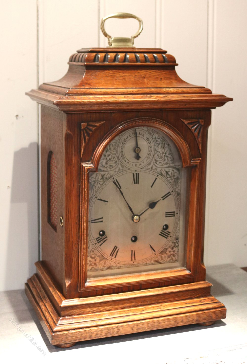 Antiques Atlas - Oak Westminster Chime Bracket Clock ...