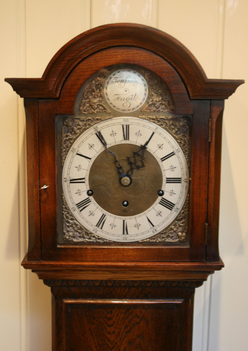Chime Sign In >> Antiques Atlas - Oak Westminster Chime Grandmother Clock