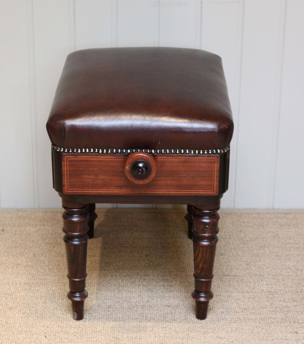 Rosewood Adjustable Piano Stool Antiques Atlas