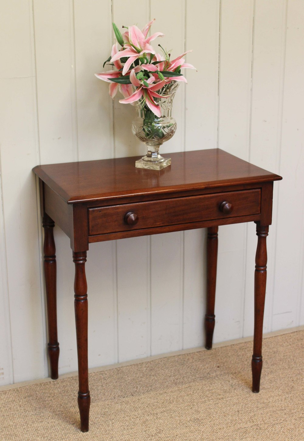 small mahogany side table antique - Small Antique Side Tables