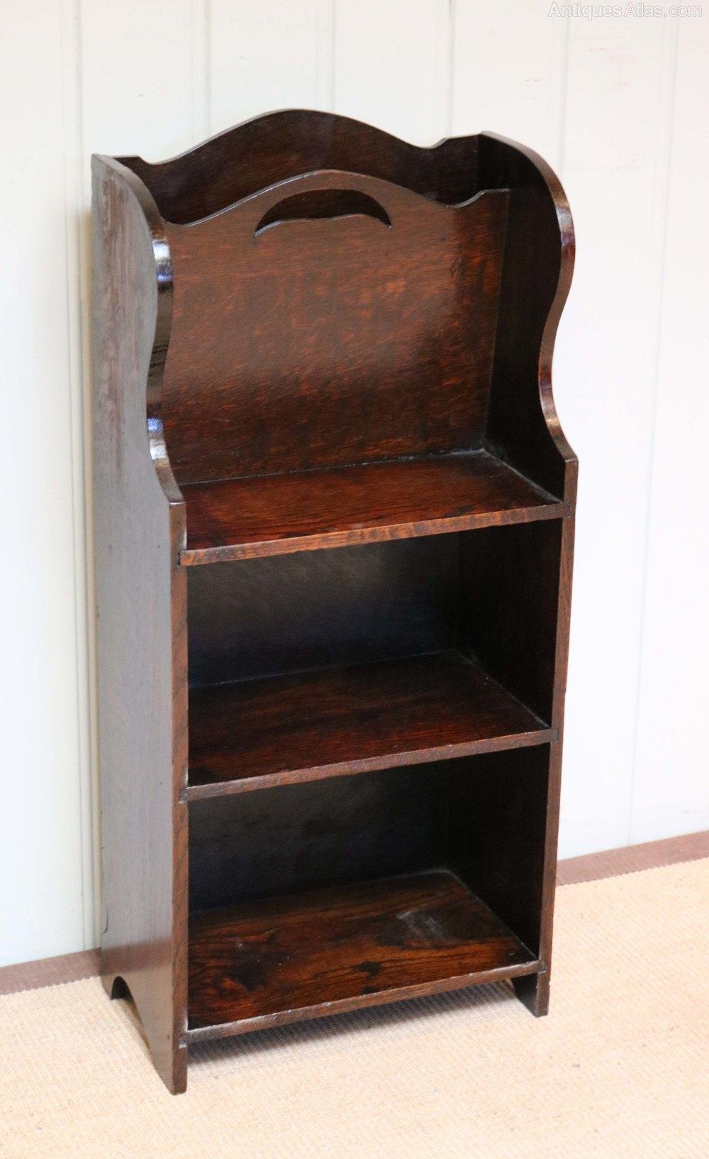 Small Oak Bookcase - Antiques Atlas