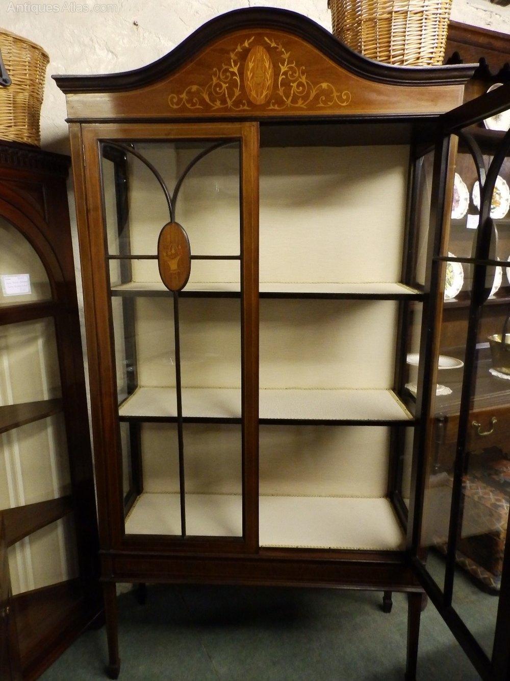 Edwardian Display Cabinet Antique Display Cabinets ... - Edwardian Display Cabinet - Antiques Atlas