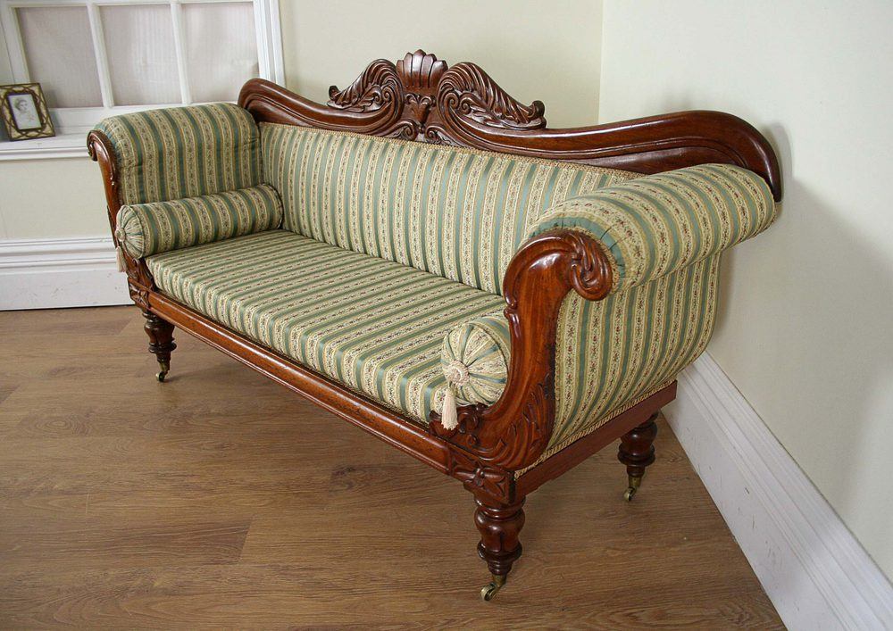 Double End William Iv Mahogany Couch C 1840 Antiques Atlas