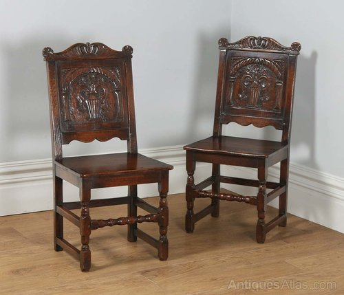 Antique Furniture Practical Pair Of 1920s Cane Bergere And Oak Single Beds Goods Of Every Description Are Available Antiques
