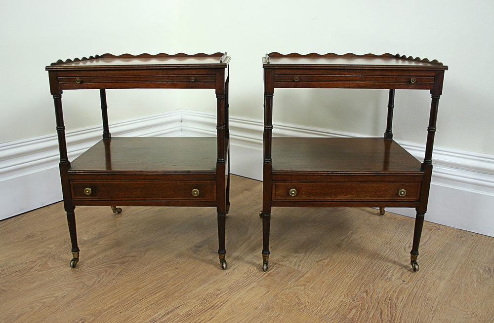 ... Antique Side Tables ...