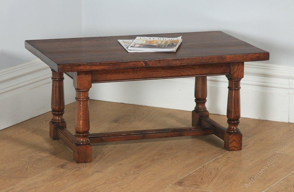 Antiques Atlas Vintage 17th Century Style Oak Coffee Table