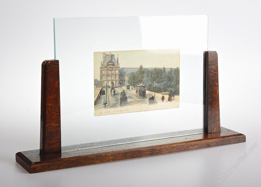 Antiques Atlas Art Deco Wooden Picture Frame