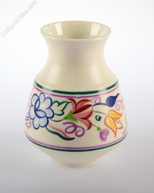 Antiques Atlas Retro Poole Pottery Vase