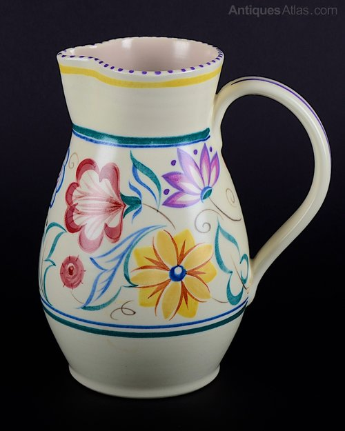 Antiques Atlas Vintage Poole Pottery Jug