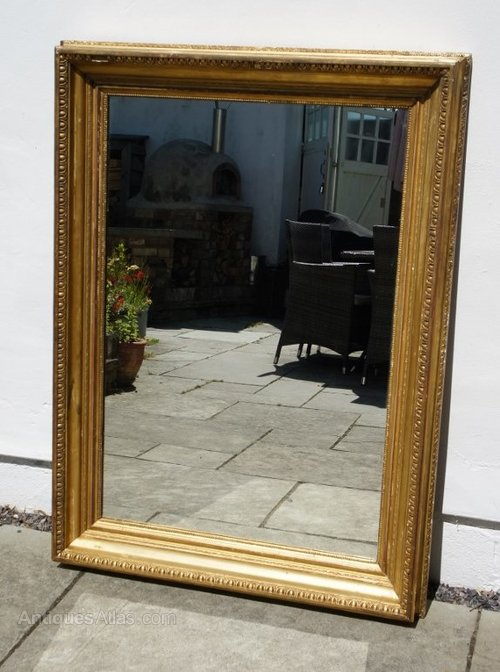 Antiques Atlas Victorian Gesso Amp Giltwood Overmantle Mirror